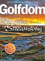 Golfdom July 2013 cover