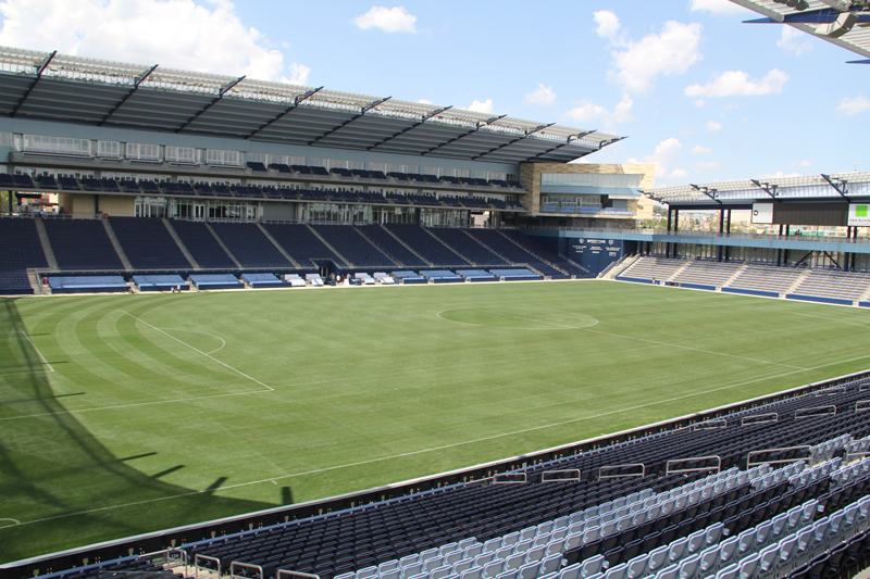 Sporting Park, Kansas City. Site of 2013 MLS All Star Game