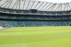 Twickenham Stadium  is the home of England Rugby and the Rugby Football Union.