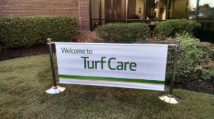 The John Deere Turf Care factory tour.