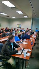 Assistant superintendents soak up knowledge during the education sessions at the Green Start Academy.
