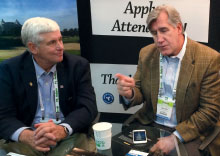 Co-founder Matt Shaffer and CEO Walt Norley sit down at the 2015 Golf Industry Show to discuss OnGolf.