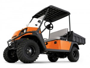 Jacobsen's gas-powered Truckster LS/LX utility vehicle