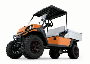 Jacobsen's gas-powered Truckster MS/MX utility vehicle
