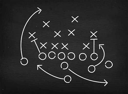 Gameplan. Photo: iStock.com/Alex Belomlinsky