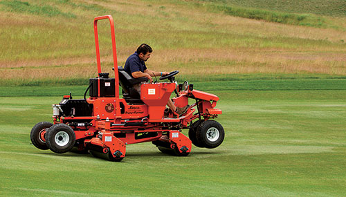 According to Salsco founder Sal Rizzo, the benefits of rolling fairways, including reducing dollar spot, are well understood.