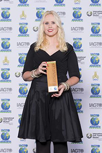 IAGTO Sustainability Award - Resource Efficiency: Karlyn Hawke, Director of Leisure Travel Sales
