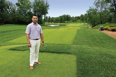 Carlos Arraya on golf course
