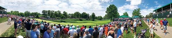 panoramic of Muirfield Village GC