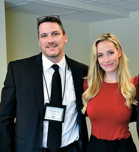 Craig MacGregor and Paige Spiranac