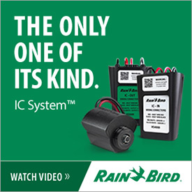 The only one of its kind - IC System (Photo: Rain Bird)