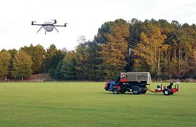 Drone (Photo: The Toro Co.)