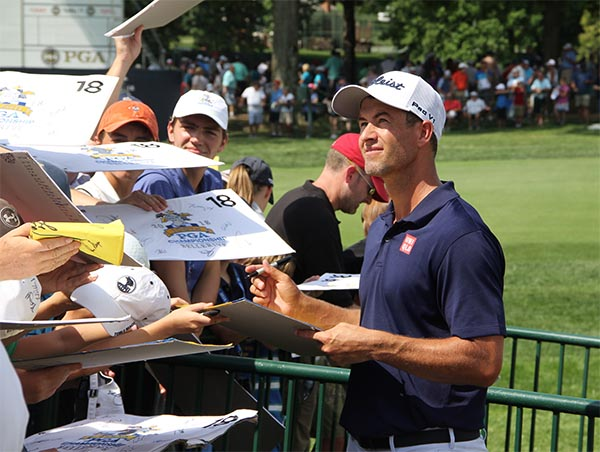 Adam Scott | Photo: Golfdom staff