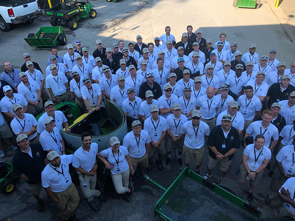 PGA Championship maintenance crew + volunteers | Photo: Golfdom staff