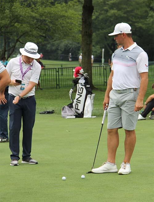 Gary Woodland. Photo: Golfdom staff