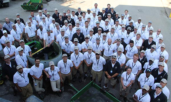 PGA Championship grounds crew | Photo: Golfdom staff