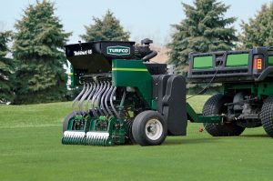 Turfco TriWave 45 Tow-Behind Overseeder