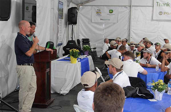 Welcome speeches | Photo: Golfdom staff