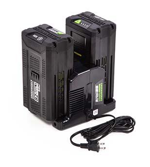 Greenworks Commercial 82v rapid dual port charger | Photo: Greenworks Commercial