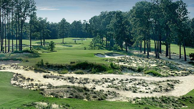 The 11th hole at Pinehurst No. 4 | photo provided by Pinehurst Resort & Country Club