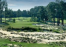 The 11th hole at Pinehurst No. 4 | photo provided by Pinehurst Resort & Country Club