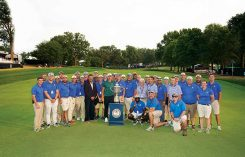 Wanamaker Trophy at Bellerive CC (Photo by: Montana Pritchard/PGA of America)