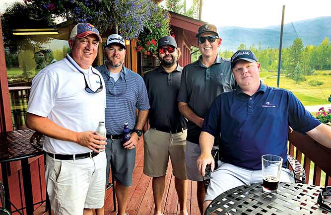EIC Seth Jones and superintendents at Grand Lake GC (Photo: Bill Roddy)