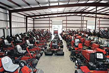 Turf equipment (Photo: Global Turf Equipment)