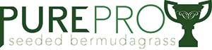 PurePro Seeded Bermudagrass logo (Photo: Atlas Turf International)