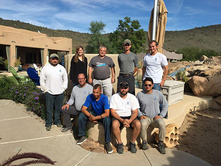 The team of Water Resource Management, based out of Glendale, Ariz. (Photo: SOLitude Lake Management)