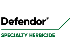 Defendor specialty herbicide (Logo: Corteva Agriscience™, Agriculture Division of DowDuPont)