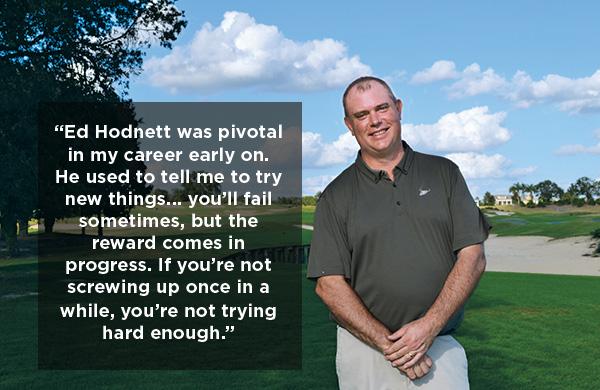 Rick Hathaway on Golf Course (Photo: Abby Hart)