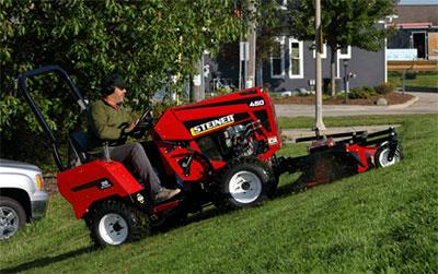 450DX tractor | Photo: Steiner