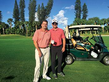 Steve Wright and Eric Swenson (Photo: Seth Jones)