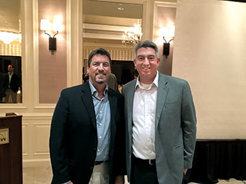Steve Wright and Seth Jones (Photo: Ted Bokern)