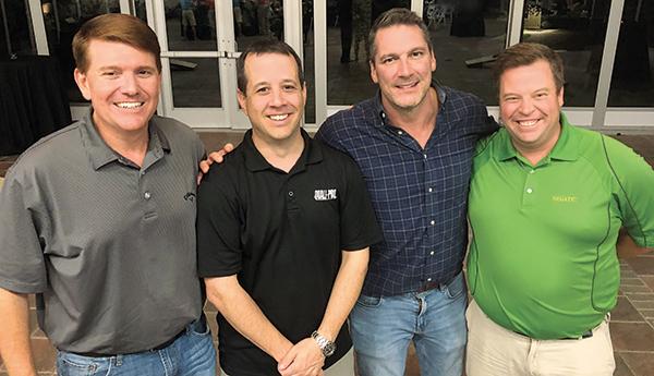 Paul Fox, Jeremy Moore, Craig MacGregor, Nick Strain (Photo: Seth Jones)