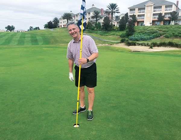 Bill Roddy on golf course (Photo: Cam Copley)