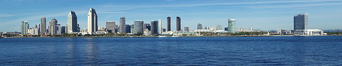 San Diego skyline (Photo: sandiego.org (Hilton San Diego)