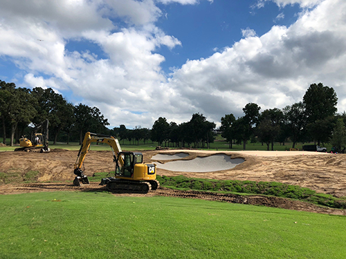 renovation at Souther Hills CC | Photo provided by Heritage Links
