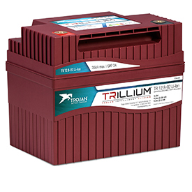 Trillium Intelligent Lithium battery (Photo: Trojan Battery Company)