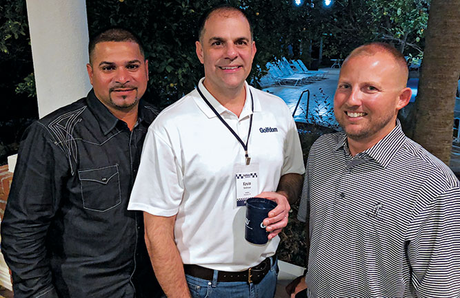 Kevin Stoltman, Robert Guerra (left) and Ron Sharps (right) (Photo: Seth Jones)