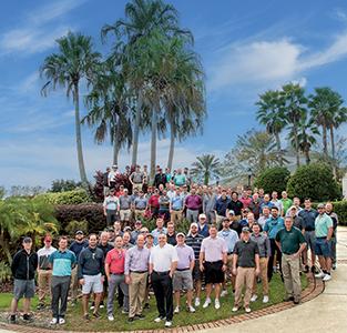 Superintendents at 2018 Golfdom Summit (Photo: Lou Ferraro, Park South Photography)