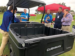 Textron showing off UTV lineup (Photo: Kelly Limpert)