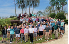 2018 Golfdom Summit attendees (Photo: Lou Ferraro, Park South Photography)