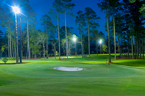 Bladerunner Farms' Trinity zoysia at Bluejack National in Texas, designed by Tiger Woods. (Photo: Bladerunner Farms)