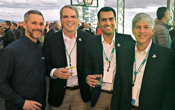 Bill Roddy, Jamie Breuninger, Karan Bansal, Tom Linnen (Photo: Seth Jones)