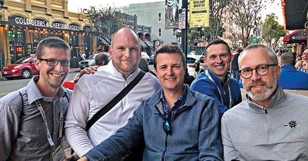 Cody Frederick, Alan FitzGerald, Jason Meersman, Brian McDonagh, Sean Tully (Photo: Abby Hart)