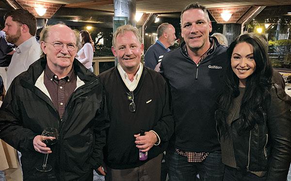Ed McCoy, Jeff Broadbelt, Craig MacGregor, Chloe Scoular (Photo: Seth Jones)