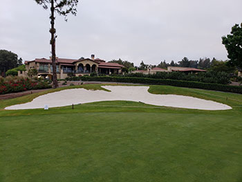"""After"" photo of the bunker renovation at Mission Viejo CC (Photo: Mission Viejo CC)"