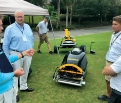 Cub Cadet product demos (Photo: Kelly Limpert)